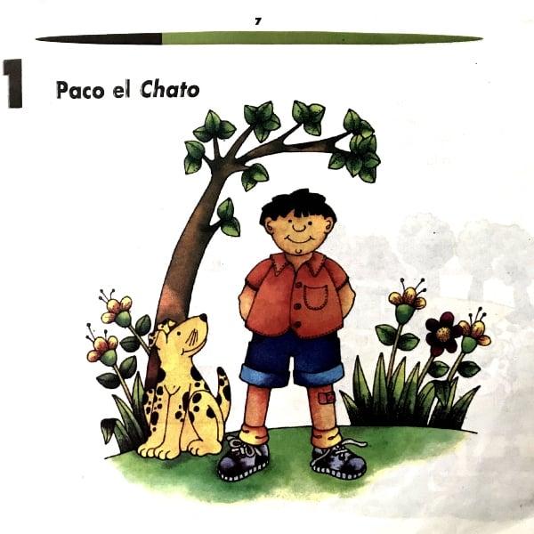 """Keanu Reeves libro de texto Paco """"El Chato"""""""