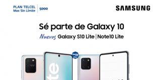 ¡Estrena los nuevos Galaxy Note10 Lite y Galaxy S10 Lite con esta súper promoción!