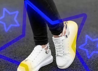 Tenis blancos SneakerTopia