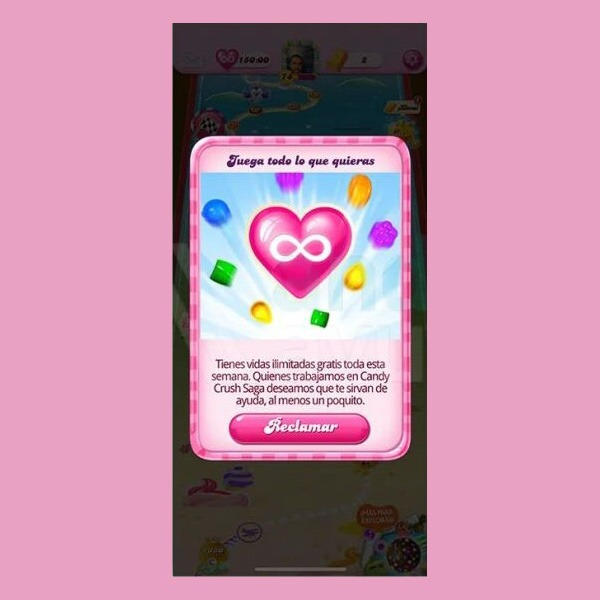 Candy Crush vidas gratis