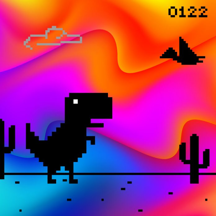 Dinosaurio juego Google