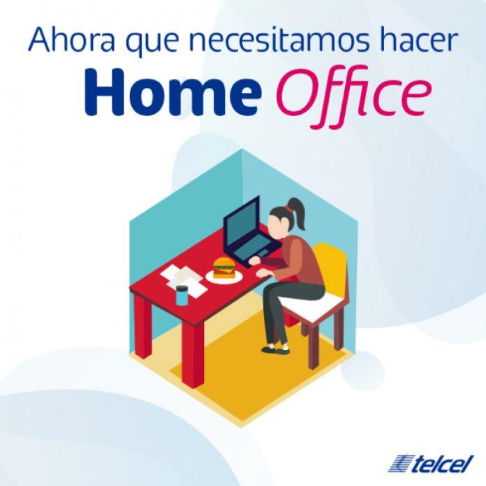 ¡Disfruta de MÁS MEGAS con Telcel en este Home Office!