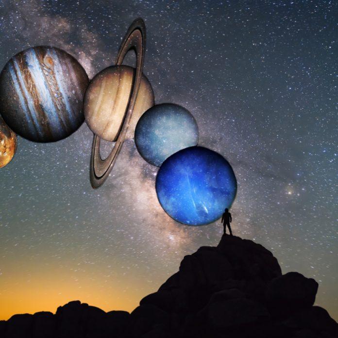 planetas conjunción luna