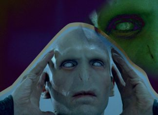 Harry Potter Voldemort película
