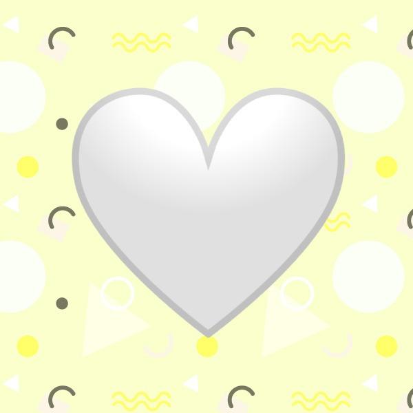 Significado corazón blanco WhatsApp