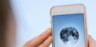 fotos de la luna con iphone