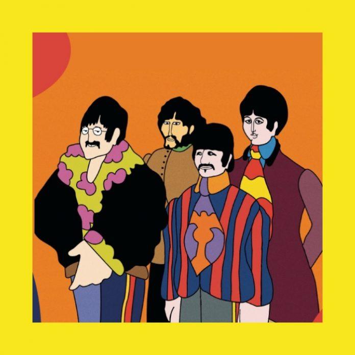 The Beatles compartirán su película 'YELLOW SUBMARINE en YouTube