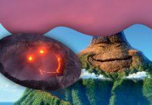 volcan sonriente