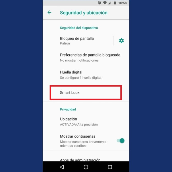 Android funciones ocultas