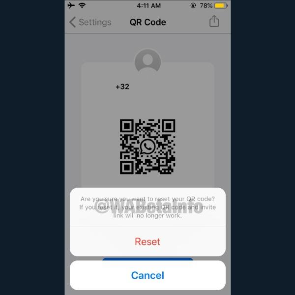 WhatsApp añade el uso de código QR para añadir contactos.