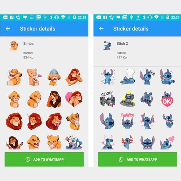 Cómo conseguir los stickers de Disney y Pixar para WhatsApp