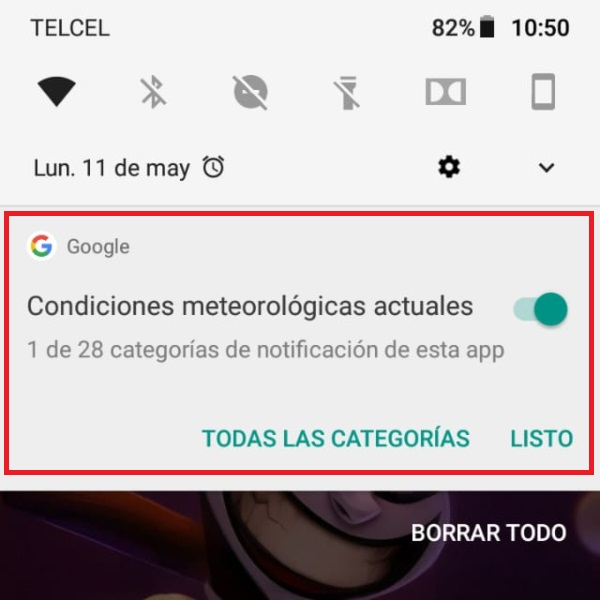 Funciones ocultas Android