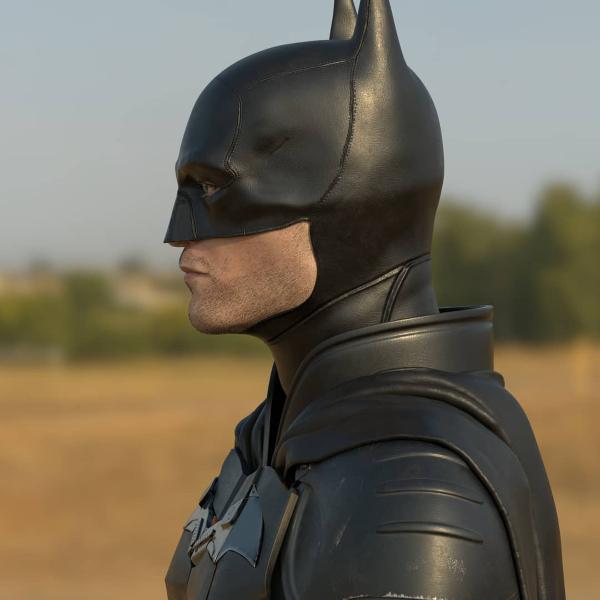 Robert Patinson Batman traje
