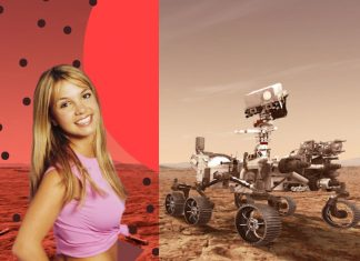 Oops I did it again Britney Spears NASA