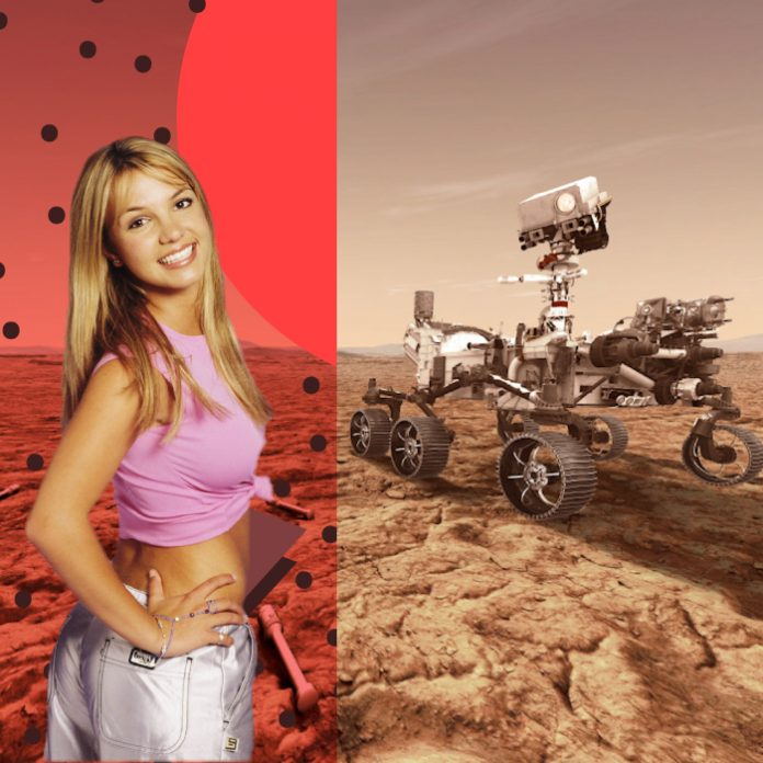 Oops I did it again Britney Spears NASA