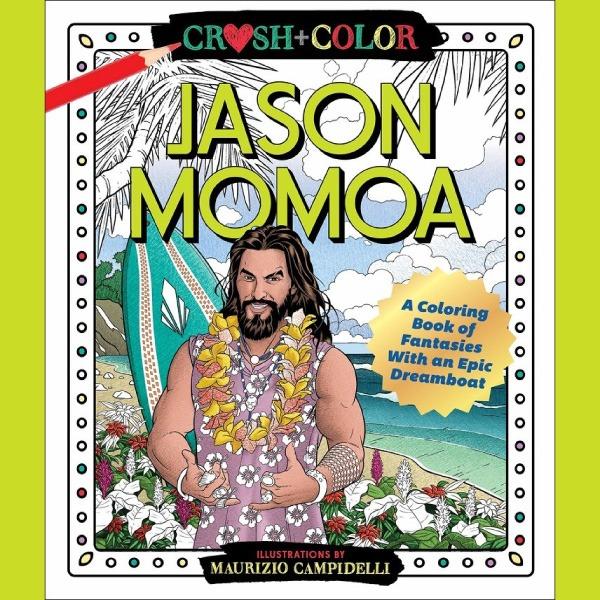 El libro para colorear de Jason Momoa