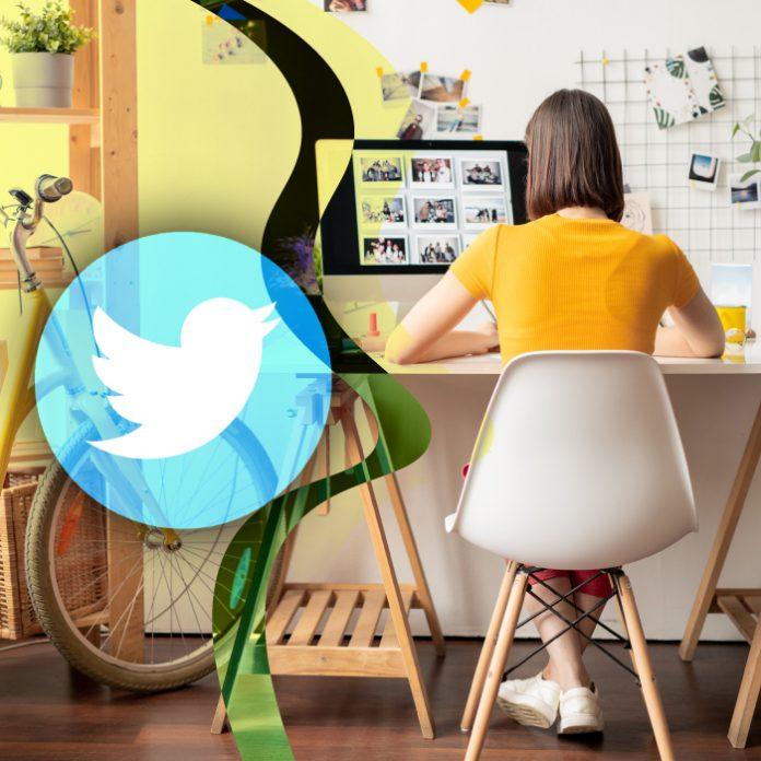 Los empleados de Twitter harán home office permanente. *Foto: Redacción