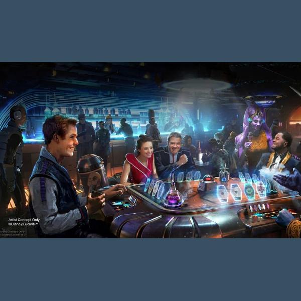 Así lucirá el nuevo hotel de Star Wars: Galactic Starcruiser en Disney. *Foto vía pictures star wars