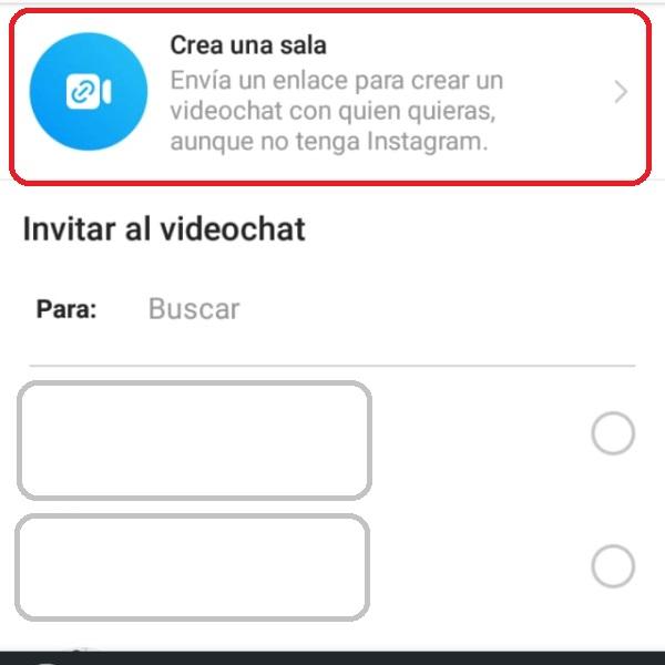 Videollamadas Instagram