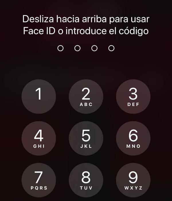 iPhone bloqueo pantalla cubrebocas