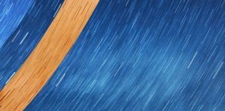 Lluvia de estrellas mayo