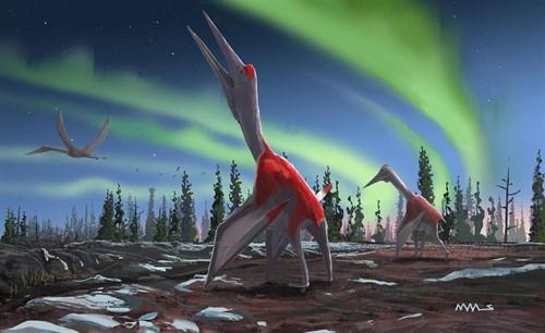 Paleontólogos encontraron el fósil de un dragón de hielo. *Foto vía Miami Diario