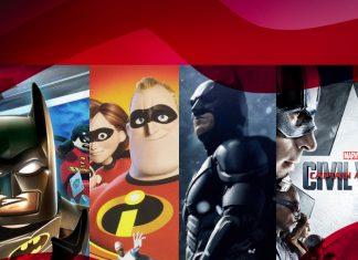 Mejores películas superhéroes
