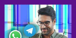 respuestas automáticas en WhatsApp y Telegram