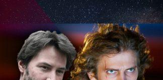 Keanu Reeves y Hayden Christensen en Star Wars