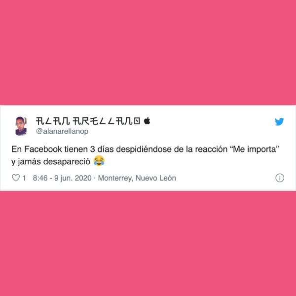 """cómo conservar la reacción """"Me importa"""" en Facebook"""