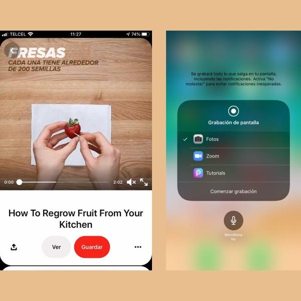 ¿Cómo grabar la pantalla del iPhone con o sin sonido propio?