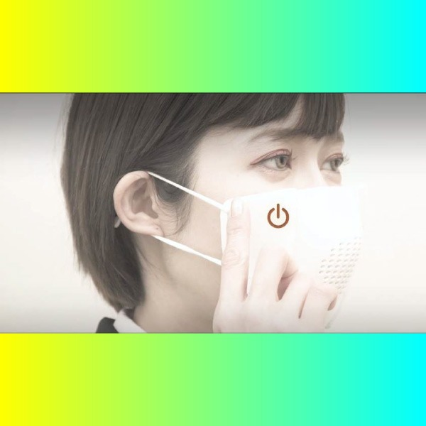 C-Mask cubrebocas inteligente que se sincroniza por bluetooth. *Foto: urdunn