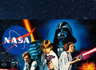 Homenaje NASA a Star Wars