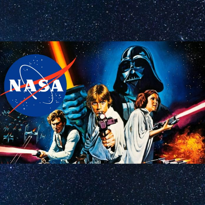 Homenaje NASA a Star Wars