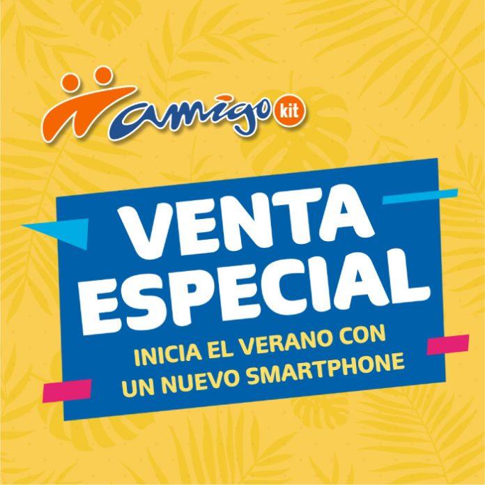 ¡Venta especial! Inicia el verano estrenando un Samsung Galaxy S8+ con Amigo Kit