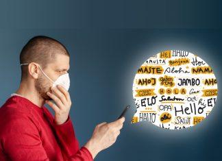 C-Mask cubrebocas inteligente que se sincroniza por bluetooth. *Foto: Redacción