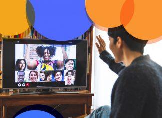Transmitir videollamadas televisión teléfono