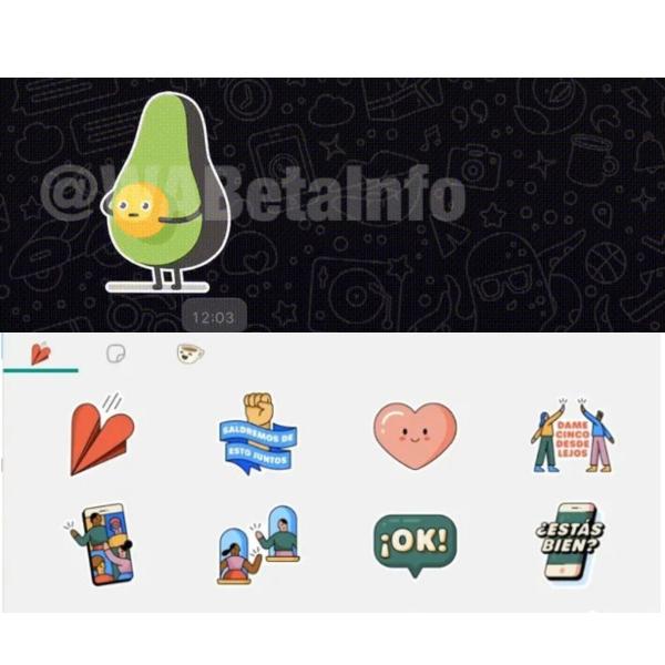 Whatsapp stickers animados