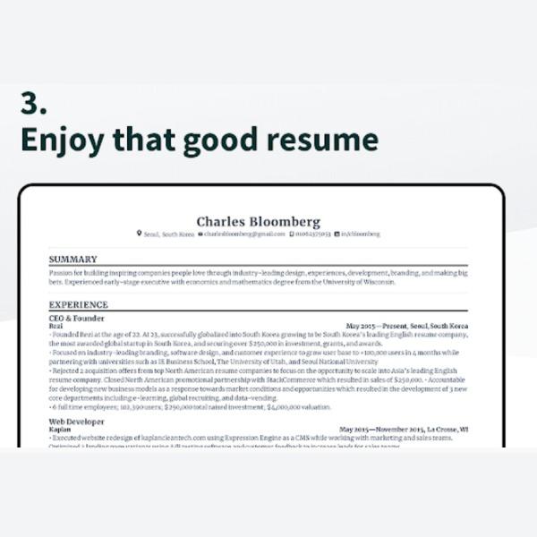 Crear tu Curriculum Vitae