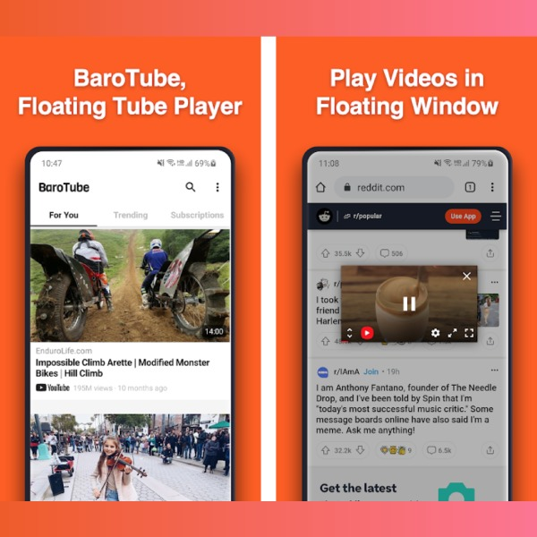 YouTube teléfono apps aplicaciones