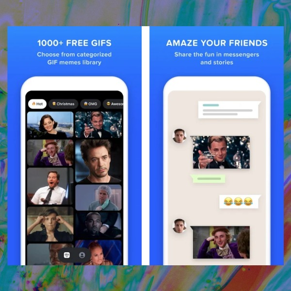 WhatsApp GIFs rostro