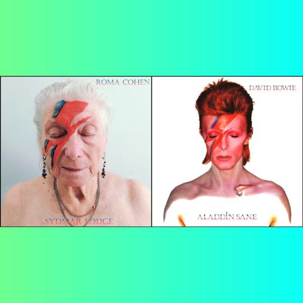 Asilo de ancianos recrea portadas de los álbumes más emblemáticos