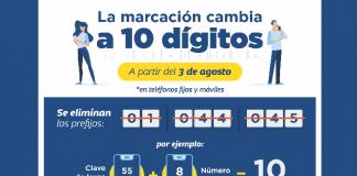 Marcación 10 dígitos