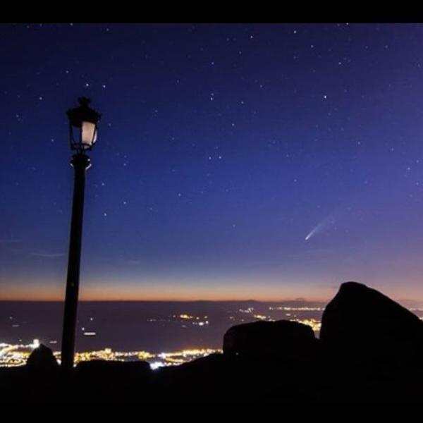 Cometa NEOWISE NASA fotos