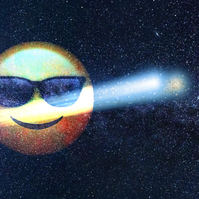 Cometa NEOWISE julio
