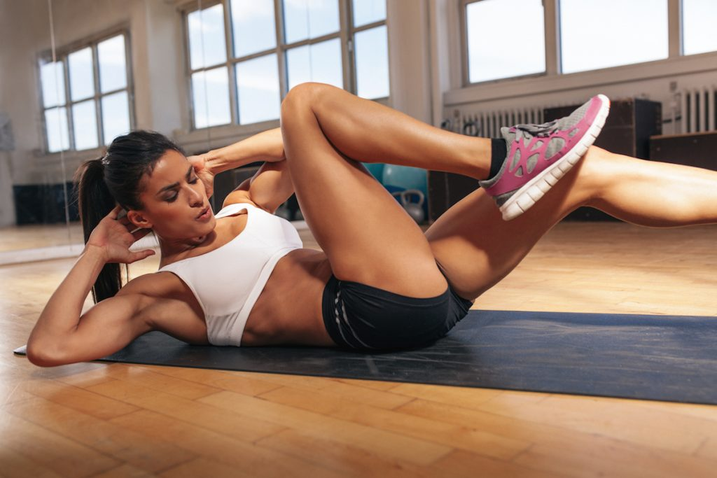 abdominales para fortalecer el abdomen en poco tiempo
