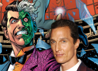 Matthew McConaughey Harvey Dos Caras The Batman