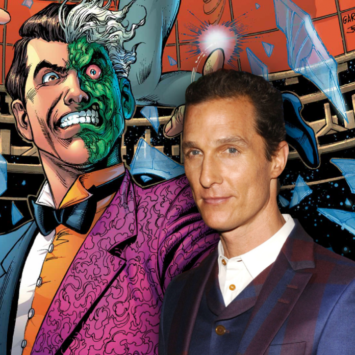 Matthew McConaughey Harvey Dos Caras The Batman