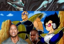Dwayne Johnson Kevin Hart Dragon Ball