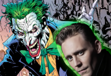 Tom Hiddleston Joker The Batman